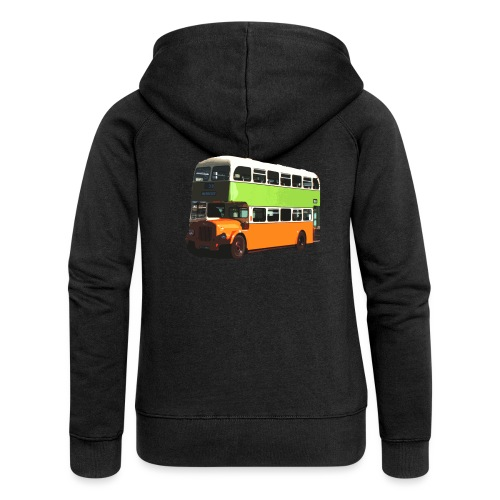 Glasgow Corporation Bus - Women's Premium Hooded Jacket