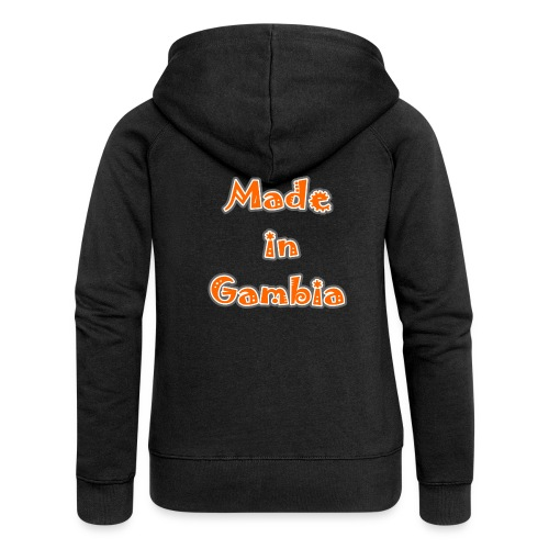 Made in Gambia - Women's Premium Hooded Jacket