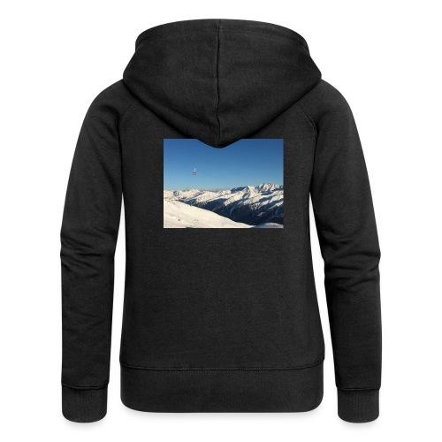 bergen - Vrouwenjack met capuchon Premium