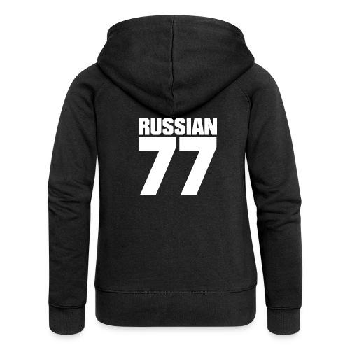 77 Russia - Frauen Premium Kapuzenjacke
