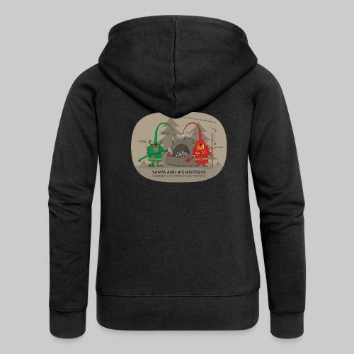 VJocys Santa Green - Women's Premium Hooded Jacket