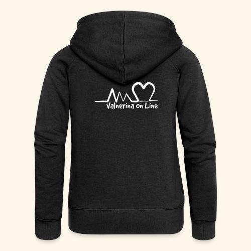 Valnerina On line APS maglie, felpe e accessori - Felpa con zip premium da donna