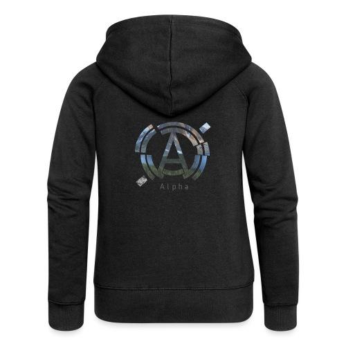 AlphaOfficial Logo T-Shirt - Women's Premium Hooded Jacket