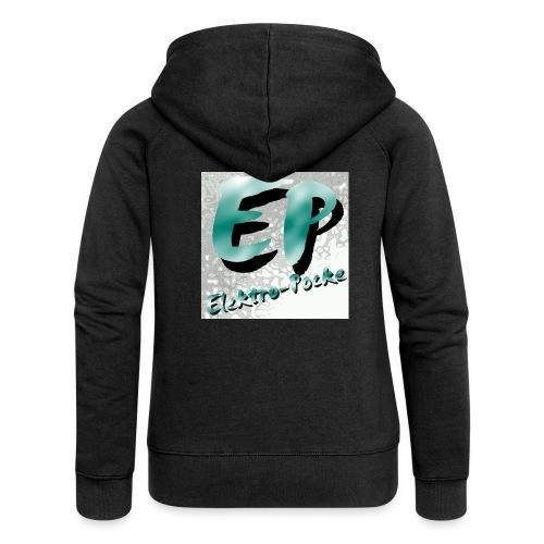 Elektro-Pocke T-Shirt Premium - Frauen Premium Kapuzenjacke