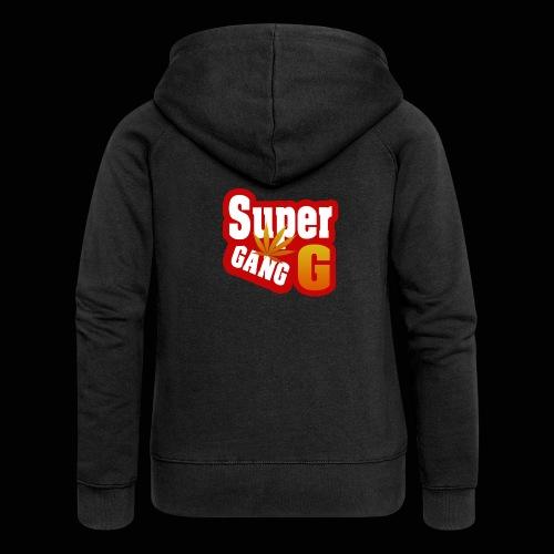 SuperG-Gang - Dame Premium hættejakke