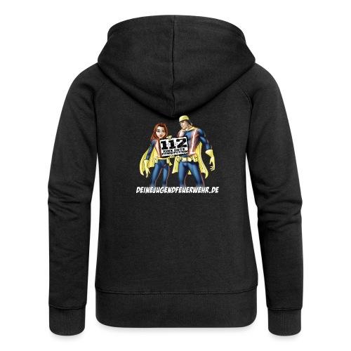 Superhelden & Logo - Frauen Premium Kapuzenjacke