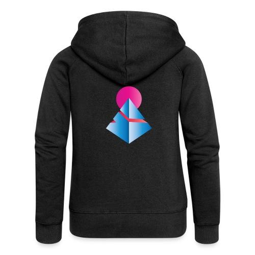 Neo-Pyramid - Frauen Premium Kapuzenjacke