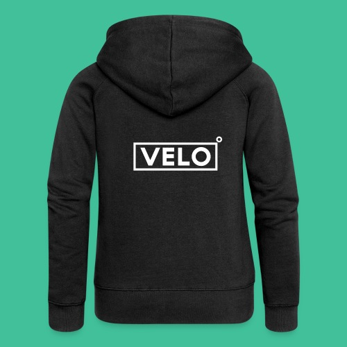 Velo Icon - Red Clr - Women's Premium Hooded Jacket