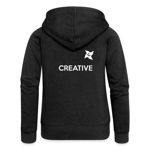 Creative long urban shirt - Dame Premium hættejakke