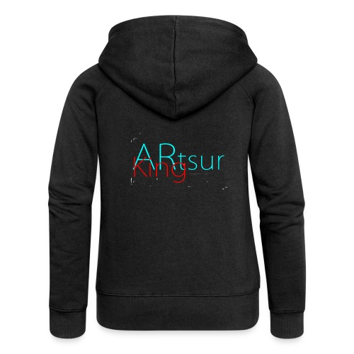 ARtsurKing Logo - Women's Premium Hooded Jacket