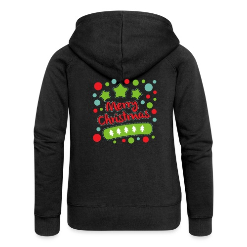 Merry Christmas - Women's Premium Hooded Jacket