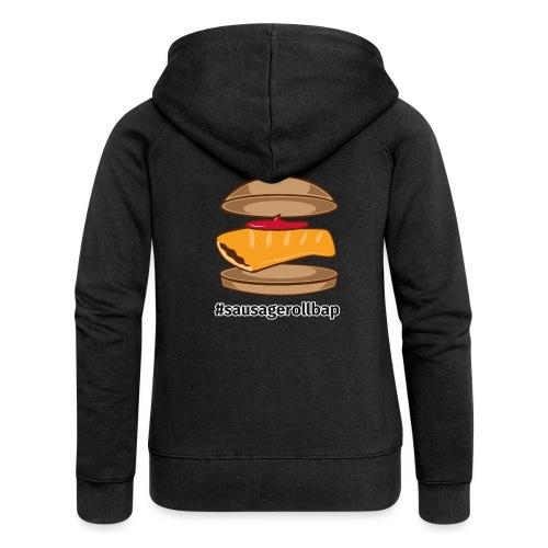 Sausage Roll Bap - Women's Premium Hooded Jacket