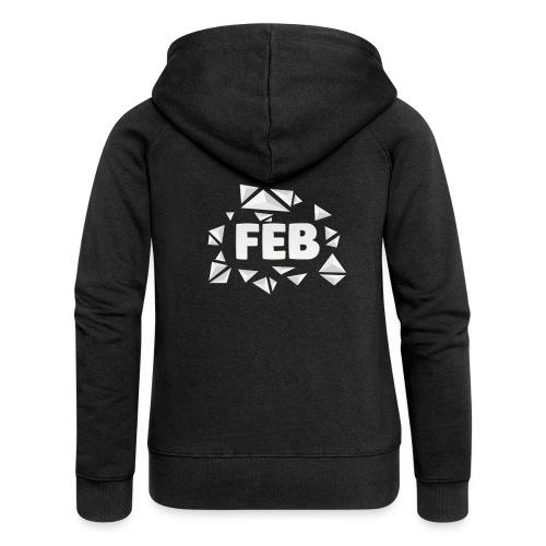FebMerch - Women's Premium Hooded Jacket
