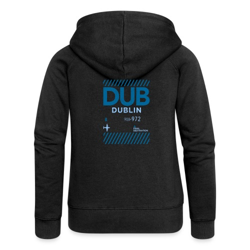Dublin Ireland Travel - Women's Premium Hooded Jacket