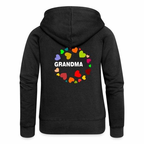 Grandma - Frauen Premium Kapuzenjacke