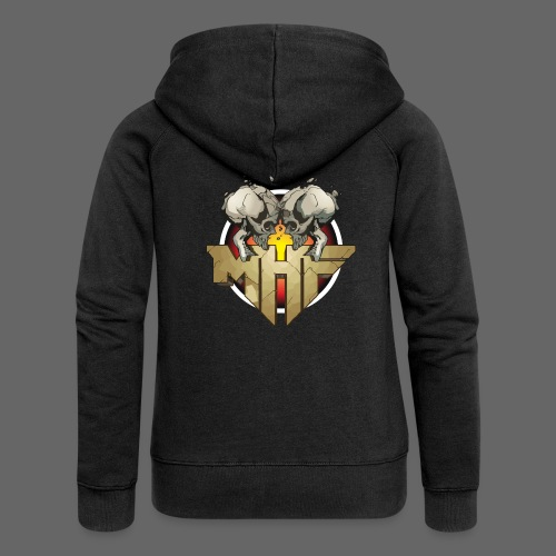 new mhf logo - Women's Premium Hooded Jacket