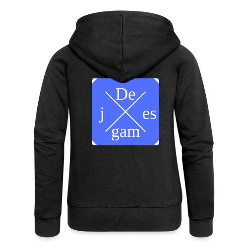 de j games kleren - Vrouwenjack met capuchon Premium
