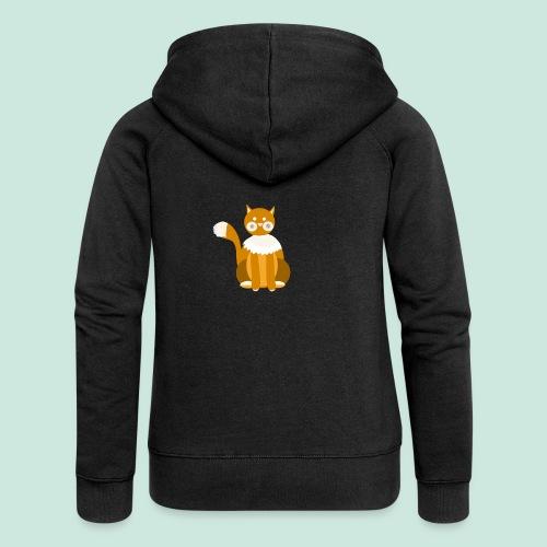 Kitty cat - Women's Premium Hooded Jacket