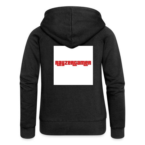RayZerGamer logo - Women's Premium Hooded Jacket