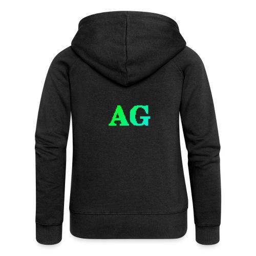 ATG Games logo - Naisten Girlie svetaritakki premium