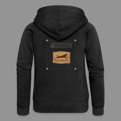 Belgian shepherd Malinois - Women's Premium Hooded Jacket