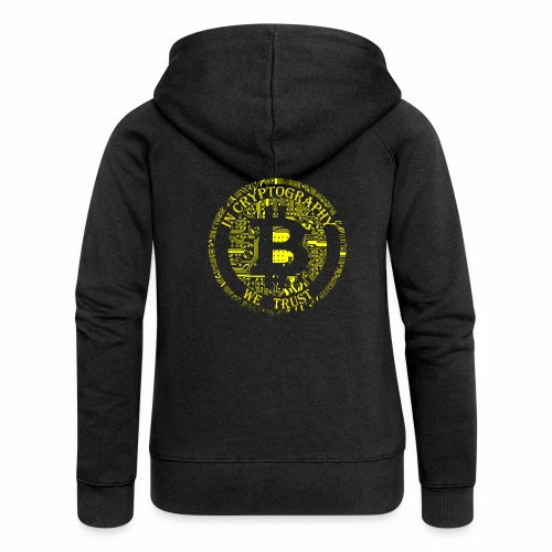 In cryptography we trust 2 - Women's Premium Hooded Jacket