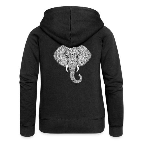 Elephant - Veste à capuche Premium Femme