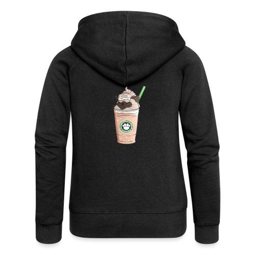 Catpuccino bright - Women's Premium Hooded Jacket