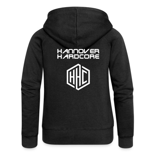 HHC Schriftzug Logo - Frauen Premium Kapuzenjacke