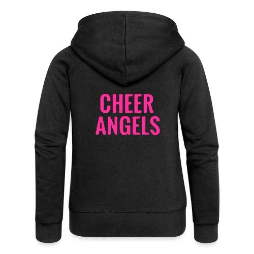 Cheer angles Pink - Naisten Girlie svetaritakki premium
