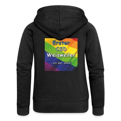 Erster CSD Weisweiler - Frauen Premium Kapuzenjacke