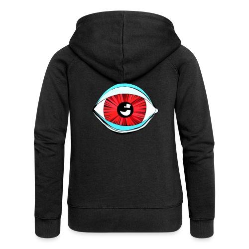 Augen...blick mal - Frauen Premium Kapuzenjacke