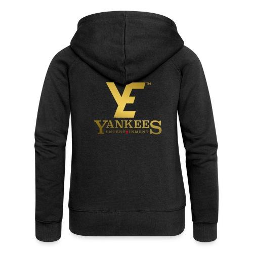 YE Logo Gold - Women's Premium Hooded Jacket
