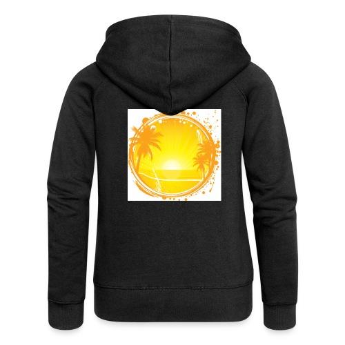 Sunburn - Women's Premium Hooded Jacket