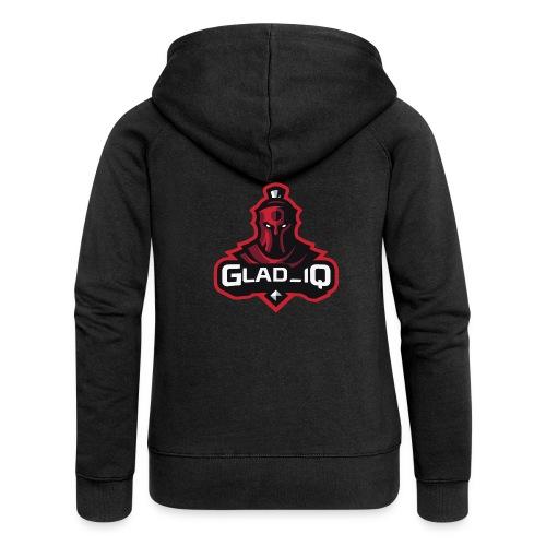 Glad_IQ Logo 1 - Frauen Premium Kapuzenjacke