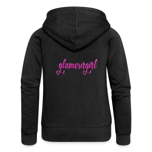 Glamourgirl dripping letters - Vrouwenjack met capuchon Premium