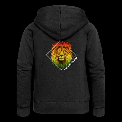 LION HEAD - UNDERGROUNDSOUNDSYSTEM - Frauen Premium Kapuzenjacke