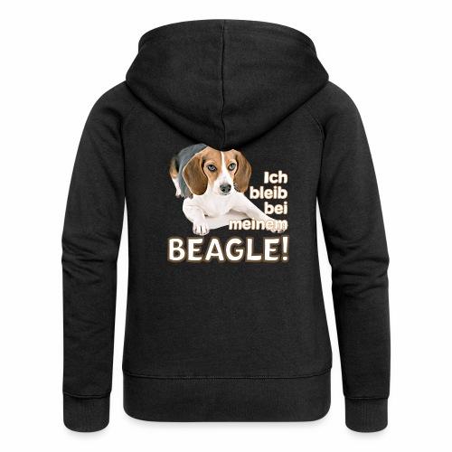Beagle T-Shirt Beagle Hunderasse Beaglemama - Frauen Premium Kapuzenjacke