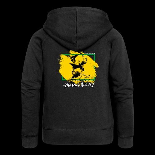 MARCUS GARVEY by Reggae-Clothing.com - Frauen Premium Kapuzenjacke