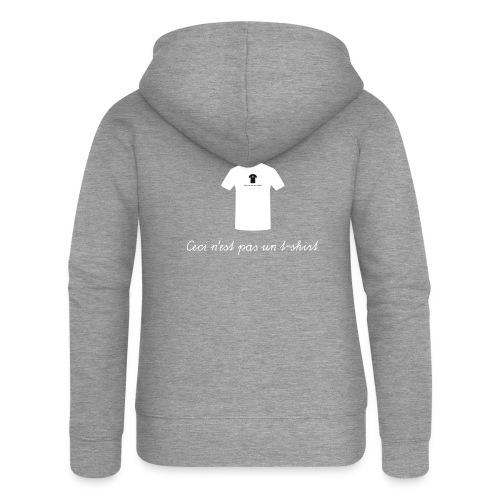 Ceci n'est pas un t-shirt. - Frauen Premium Kapuzenjacke