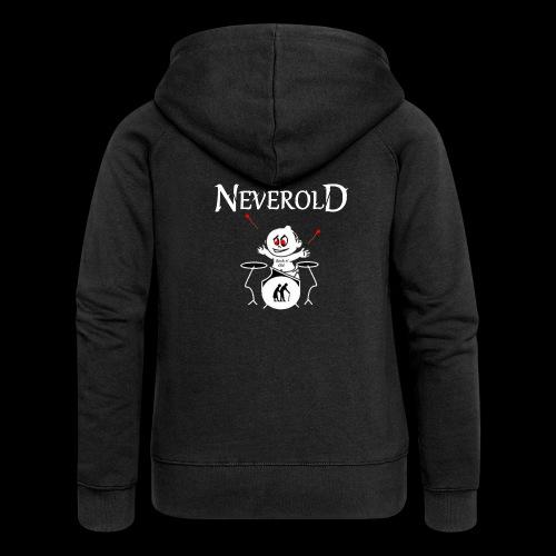 LOGO NEVEROLD - Veste à capuche Premium Femme