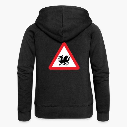 Welsh Dragon - Women's Premium Hooded Jacket
