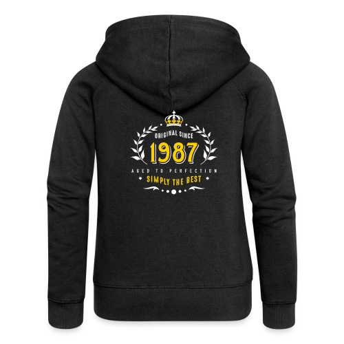 original since 1987 simply the best 30th birthday - Women's Premium Hooded Jacket