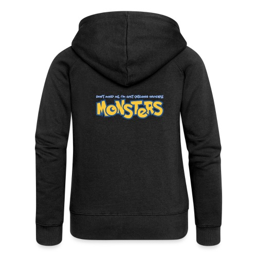 Monsters - Women's Premium Hooded Jacket