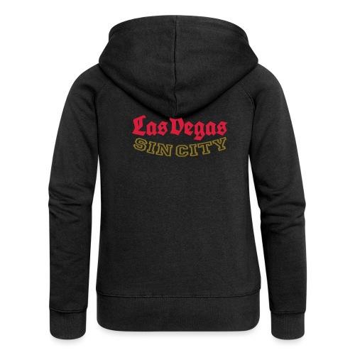 LAS VEGAS SIN CITY - Women's Premium Hooded Jacket