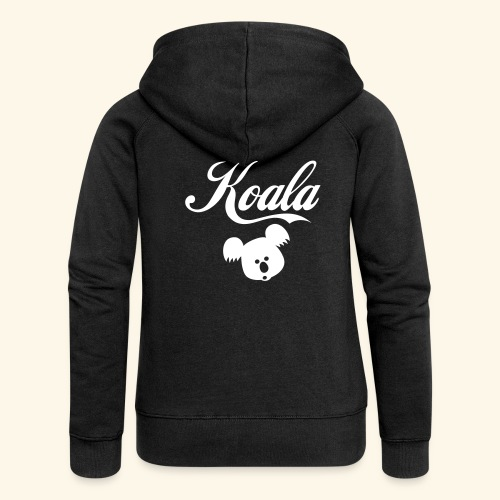 Koala Kawaii Comic Design für Australien Fans - Frauen Premium Kapuzenjacke