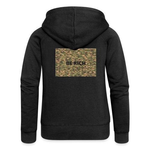 ARMY TINT - Vrouwenjack met capuchon Premium