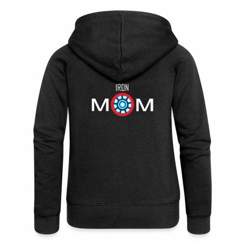 Iron mom - Women's Premium Hooded Jacket