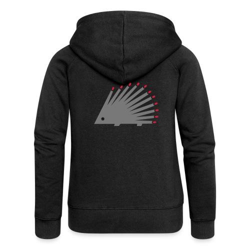 Hedgehog - Women's Premium Hooded Jacket