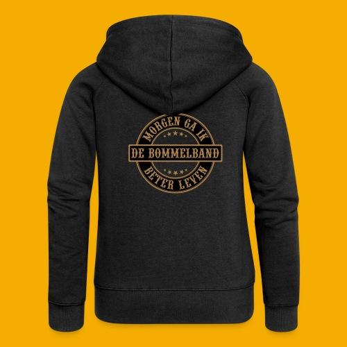 bb logo rond shirt - Vrouwenjack met capuchon Premium